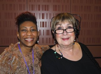 Woman's Hour, Yvonne John and Jenni Murray