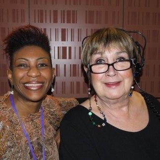 Woman's Hour, Yvonne John and Jenni Murray